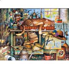 The Cats of Charles Wysocki: Remington the Horticulturist - 500-999 Pieces