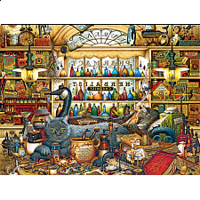 The Cats of Charles Wysocki: Elmer and Loretta - 500-999 Pieces