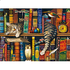 The Cats of Charles Wysocki: Frederick the Literate - 500-999 Pieces
