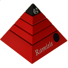Ramisis: GII - Limited Edition Devil - Red with Black Capstone - Andrew Reeves