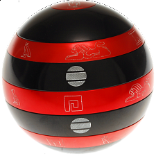 Isis:  Limited Edition Devil Orb - Black and Red X Series - Andrew Reeves