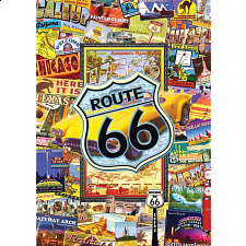 World's Smallest 1000 Piece - Route 66 - World's Smallest Pieces