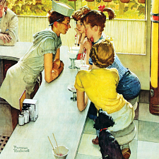 Norman Rockwell - Soda Jerk - Search Results
