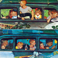 Norman Rockwell - Coming and Going - Search Results