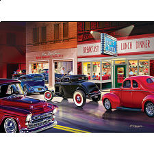 Cruisin' - Phil's Diner - 1000 Pieces
