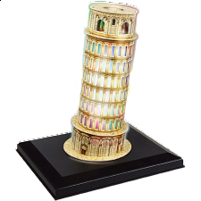 Leaning Tower of Pisa - LED Lit 3D Jigsaw Puzzle - 1-100 Pieces