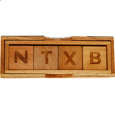 Dammit! The 4-letter word puzzle - Other Wood Puzzles