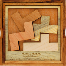 Martin's Menace - Large - Other Wood Puzzles