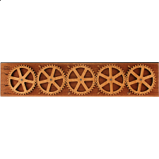 Enigma V Encryption Machine - Wood Puzzles