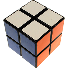 Shengshou 2x2x2 - Black Body - Rubik's Cube & Others