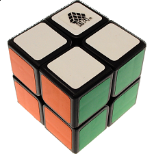 Type C WitTwo II 2x2x2 Magic Cube Black Body for Speed Cubing -