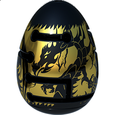 Smart Egg 2-Layer Labyrinth Puzzle - Level 3 Black Dragon - Maze Puzzles