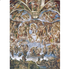 Museum Collection: Universal Judgement - Michelangelo - 1000 Pieces