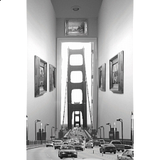 Drive Thru Gallery: Thomas Barbey Schmidt Jigsaw Puzzle - 500-999 Pieces