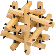 The Lab Test: Molecule Puzzle - Wood Puzzles