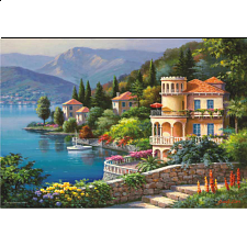 Lakeside Villa - Jigsaw Puzzle - 1001 - 5000 Pieces