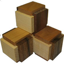 3 Boxy - European Wood Puzzles
