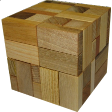 Rob's Halfcubes 1 - European Wood Puzzles