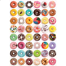 Donuts - 1000 Pieces