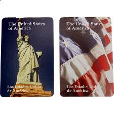 Playing Cards - USA Trivia (Tourist Facts) -