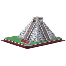 Maya Pyramid - 3D Jigsaw Puzzle - Search Results