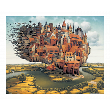 Jacek Yerka - City is Landing - 500-999 Pieces