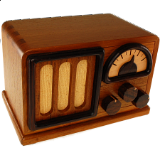 Karakuri Bad Radio - Wood Puzzles