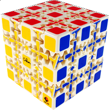Oskar Gear 5x5x5 Cube - White Body - Rubik's Cube & Others