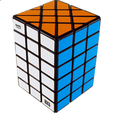 CrazyBad 4x4x6 Fisher Cuboid - Black Body - Other Rotational Puzzles