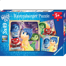 Inside Out: Emotional Adventure - 3 x 49 piece puzzles - Search Results
