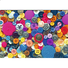 Buttons - Large Piece Format - 500-999 Pieces