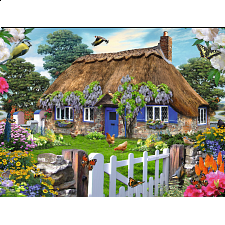 Cottage in England - 1001 - 5000 Pieces