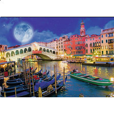 Full Moon in Venice - 1001 - 5000 Pieces