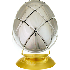 Metalised Egg 3x3x3 - Silver - Search Results