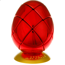 Metalised Egg 3x3x3 - Red - Search Results