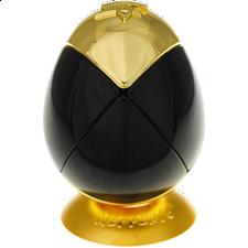 Metalised Egg 2x2x2 - Black & Gold - Search Results