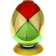 Metalised Egg 2x2x2 - Multi Color - Rubik's Cube & Others
