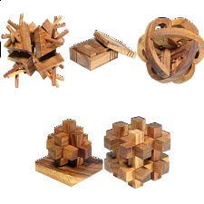 Group Special - a set of 5 XS HeadStress puzzles - Specials
