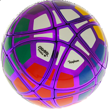 Traiphum Megaminx Ball - (12-Color) Metallized Purple - Other Rotational Puzzles