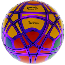 Traiphum Megaminx Ball - (6-Color) Metallized Purple - Other Rotational Puzzles