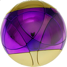 Traiphum Megaminx Ball - Metallized 2 Color - Middle Purple - Rubik's Cube & Others