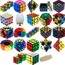Group Special - a set of 23 Puzzle Master Rotational Puzzles - Other Rotational Puzzles