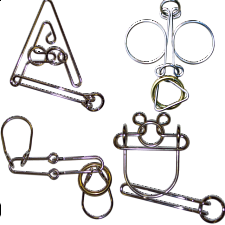 .Level 7 - a set of 4 wire puzzles - Specials