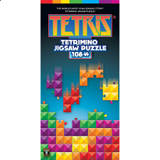 Tetris Tetrimino Tangle - 108 pc Brainteaser - More Puzzles