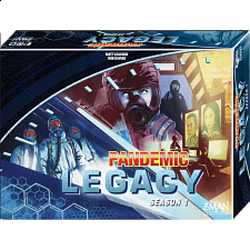 Pandemic: Legacy Season 1 (Blue Edition) - Family Games