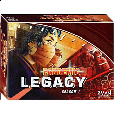Pandemic: Legacy Season 1 (Red Edition) - Family Games