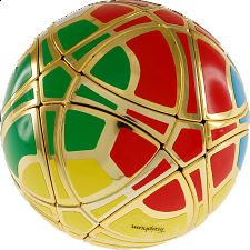 Traiphum Megaminx Ball - (6-Color) Metallized Gold - Rubik's Cube & Others