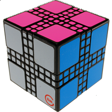 limCube Master Mixup Cube Type 1 - Black Body - Other Rotational Puzzles