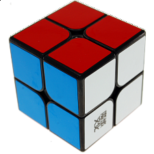 TangPo 2x2x2 Cube - Black Body for Speed-cubing - Other Rotational Puzzles