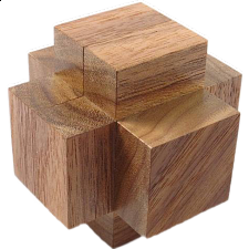 Co-Mo Cross - European Wood Puzzles